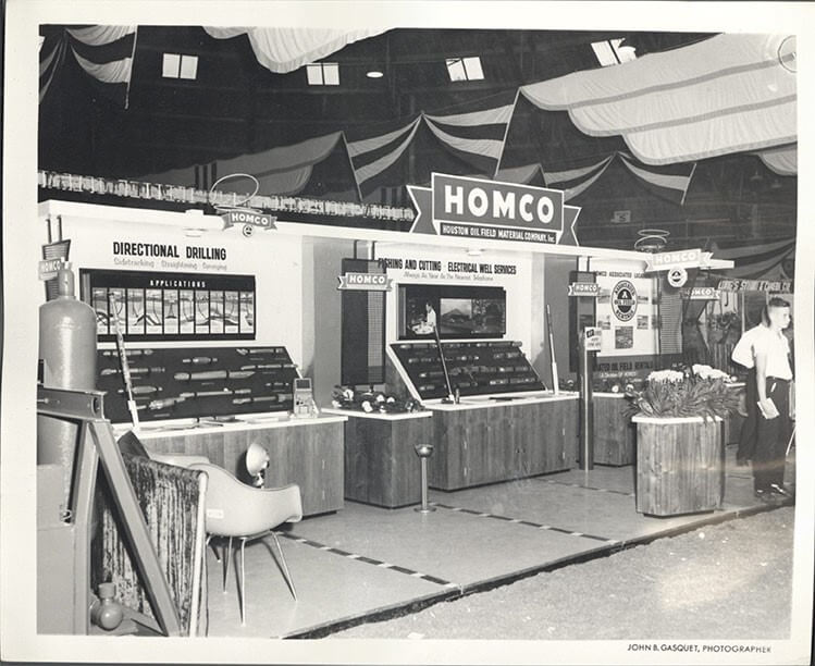 1960s Homco exhibition stand