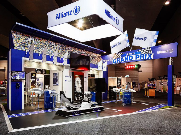 Allianz Exhibition Stand Nimlok Australia