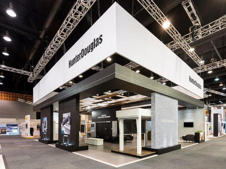 Hunter Douglas Exhibition Stand Nimlok Australia