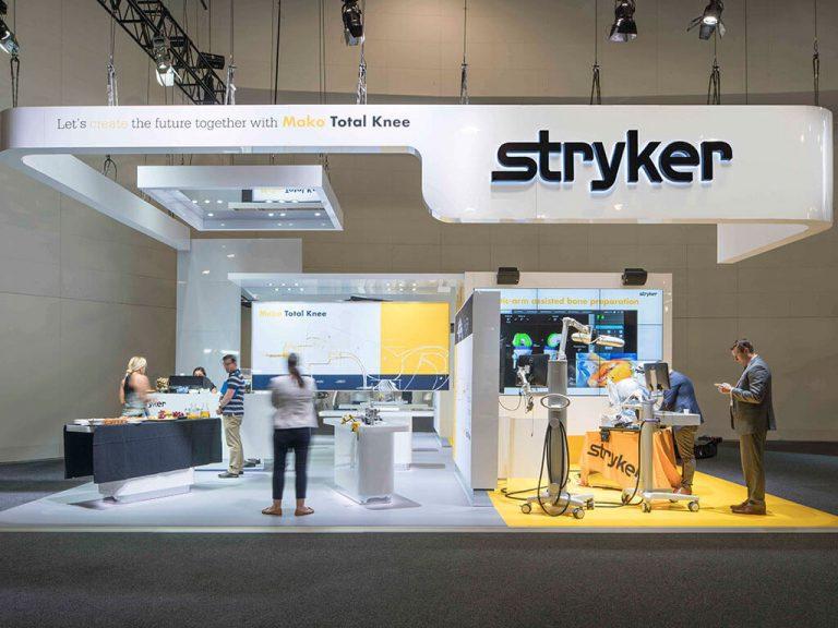 Stryker Exhibition Stand Nimlok Australia