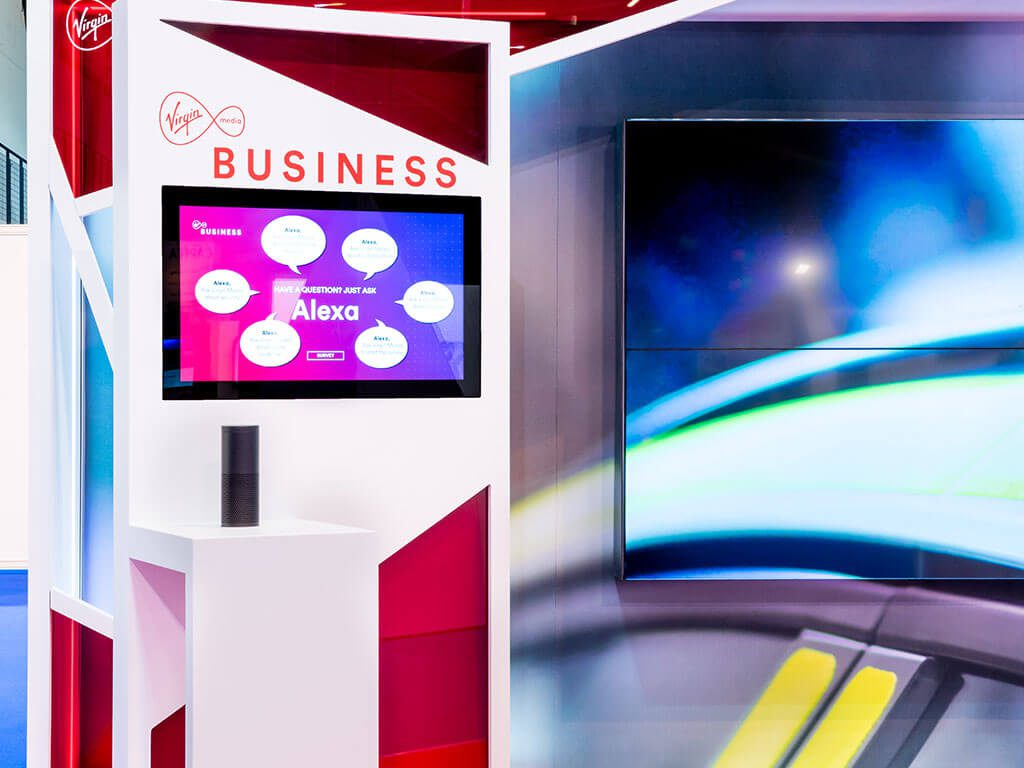 Virgin Media Business Exhibition Stand