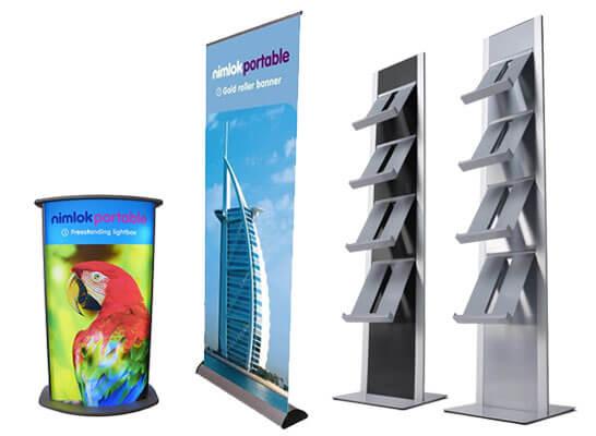Nimlok Portables banner stands
