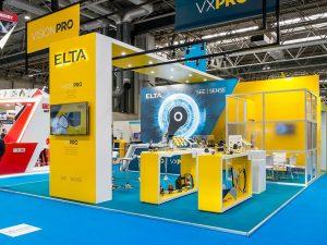 Elta bespoke exhibition stand
