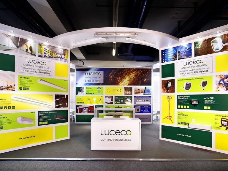 Luceco Exhibition Stand