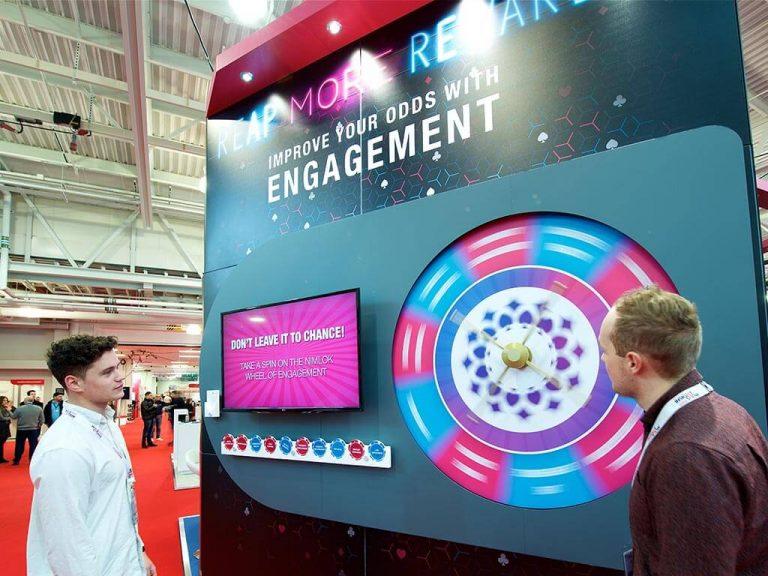 Nimlok stand engagement marketing solution