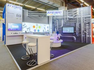 Frese bespoke exhibition stand