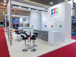 JCB Bespoke Exhibition Stand