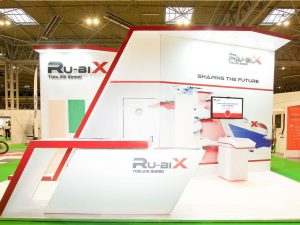 RU-BIX Exhibition stand