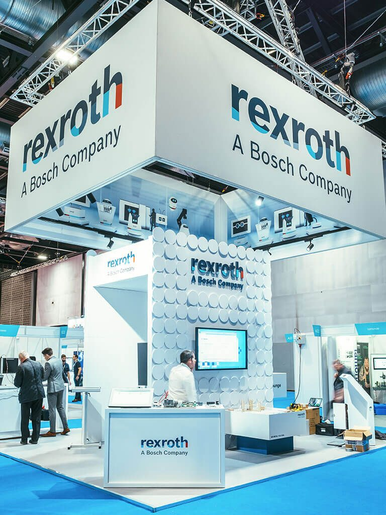 Rexroth exhibition stand