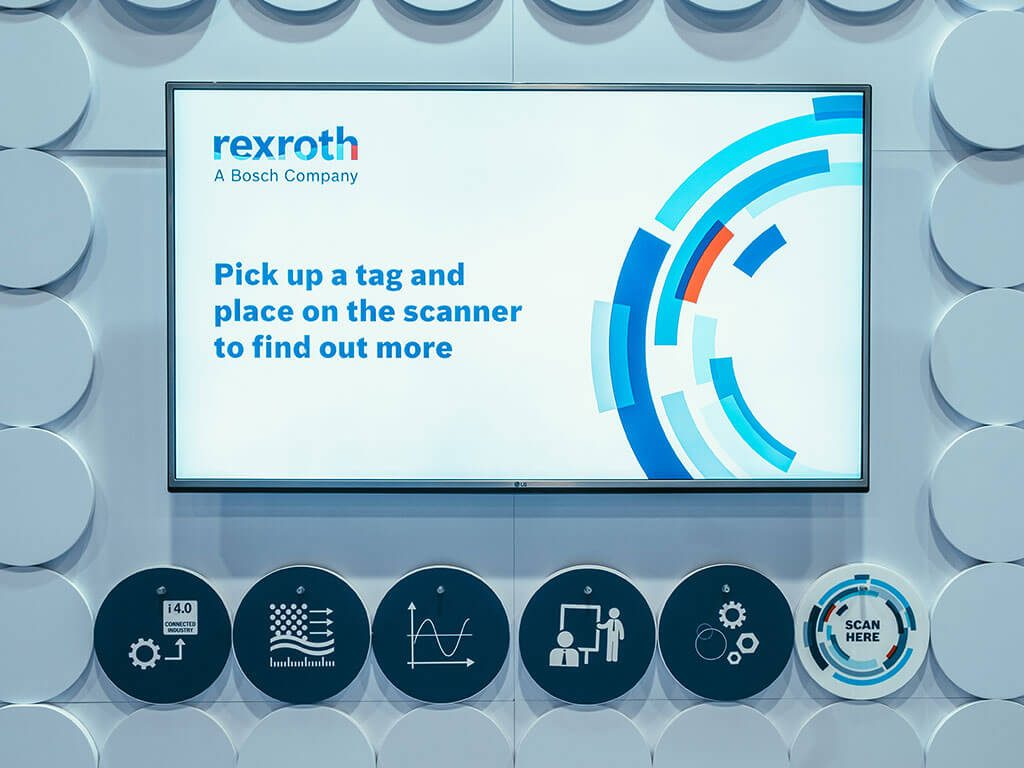 Rexroth interactive RFID media centre