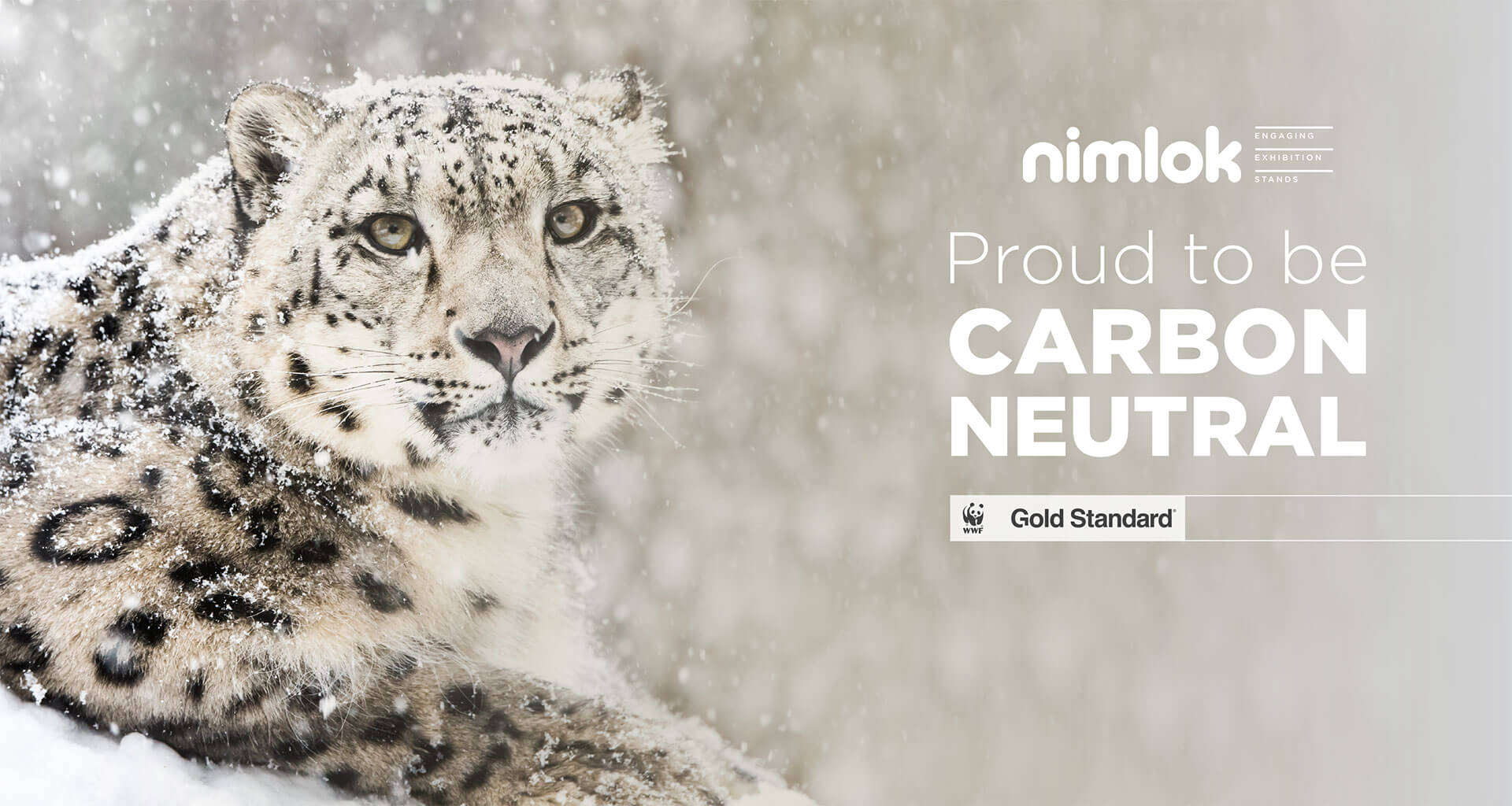 Proud to be carbon neutral - gold standard