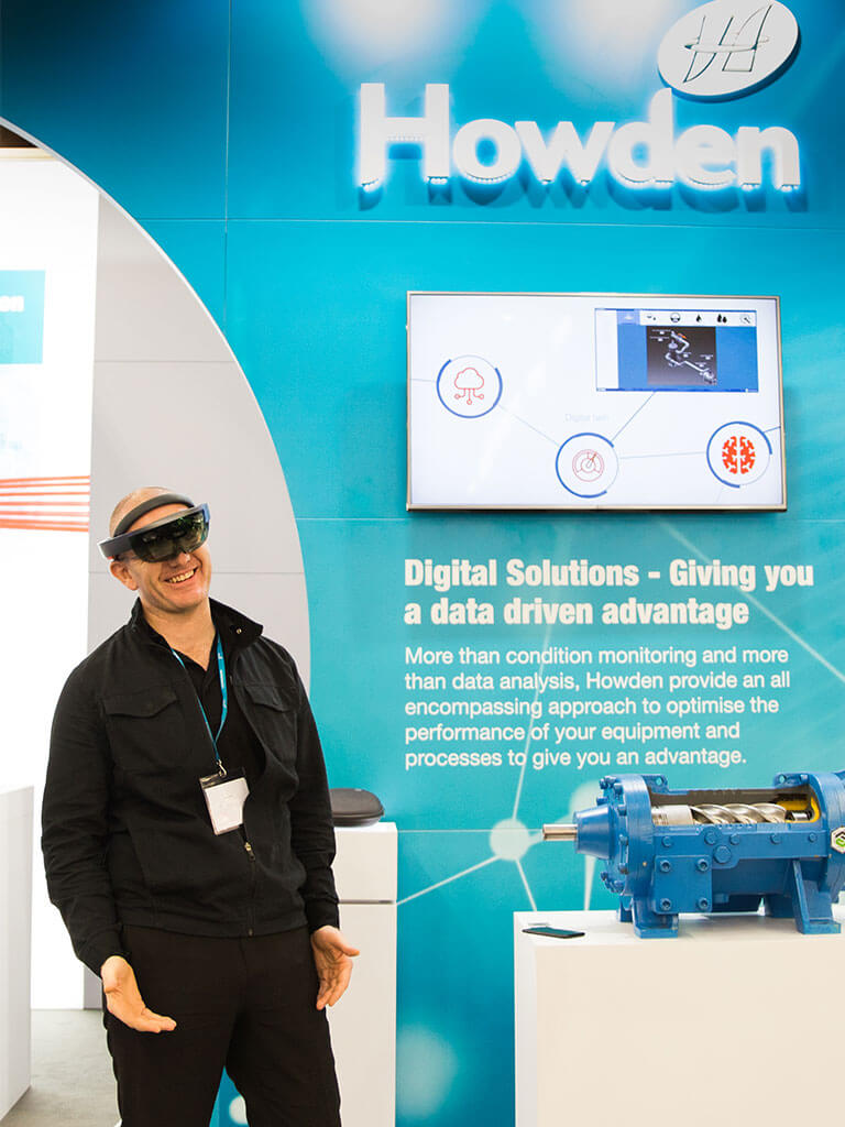 Howden Exhibition Stand with VR engagement