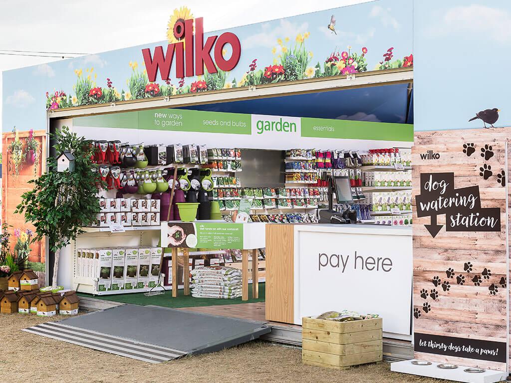 Exhibition Stand Essentials : Summer outdoor exhibition stands nimlok uk