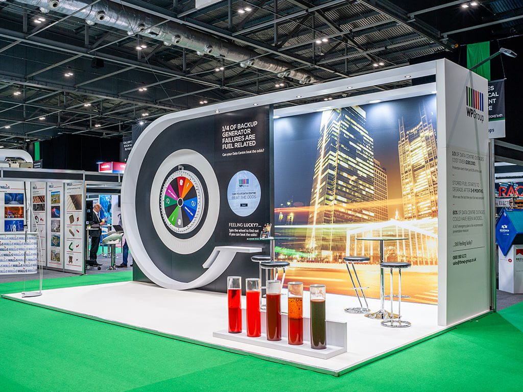 WP Group Bespoke exhibition stand