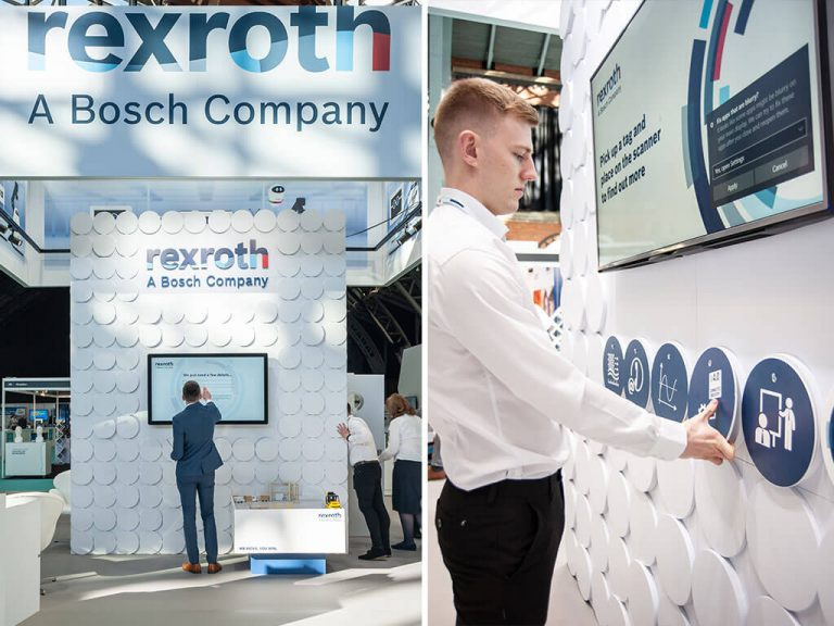 Bosch Rexroth Exhibition Stand