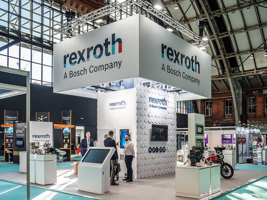 Bosch Rexroth Exhibition Stand