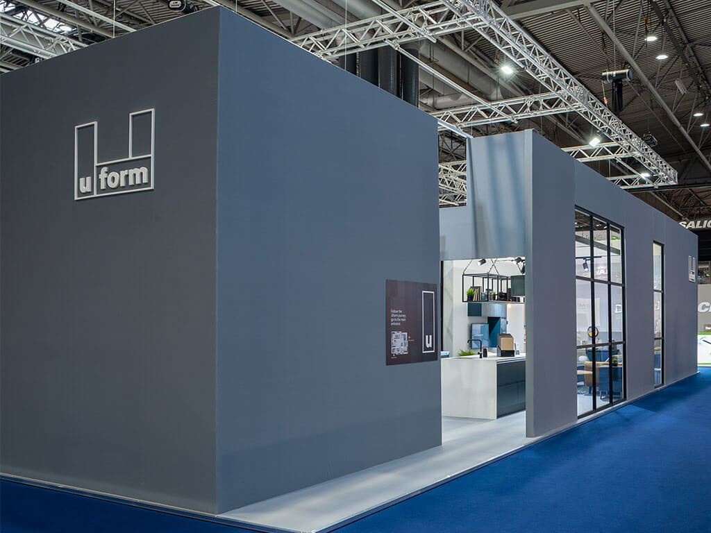 UForm Bespoke Hire Exhibition Stand