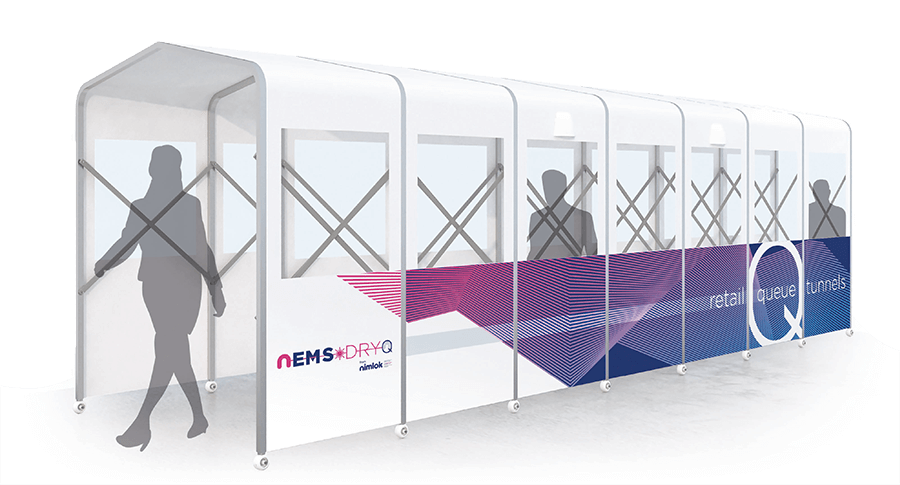 NEMS DryQ - Sheltered Cover Walkway