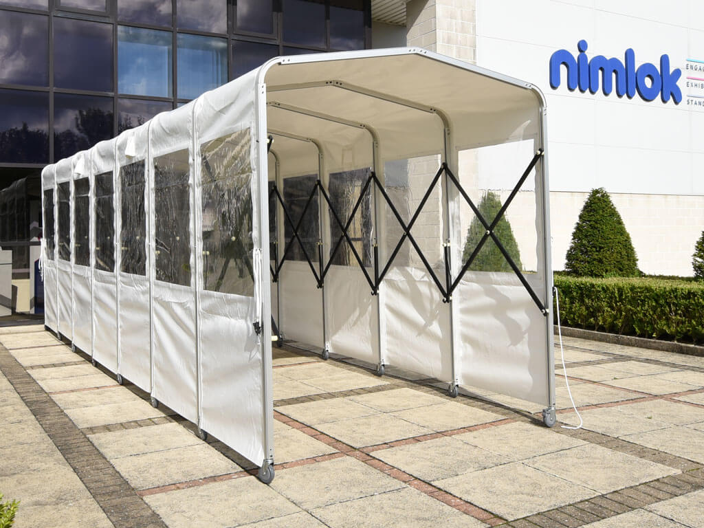 Sheltered Cover Walkway for Retailers