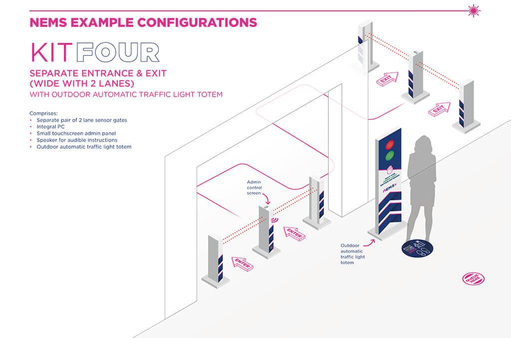 nems-kit-four-traffic-light-entry-system