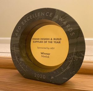 Stand Design & Build Supplier Of The Year 2020